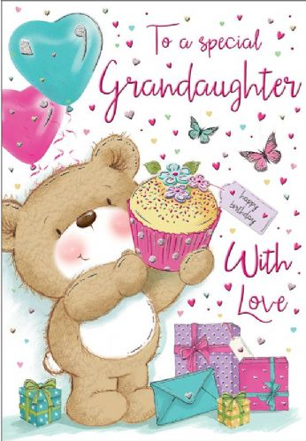 To A Special Granddaughter With Love
